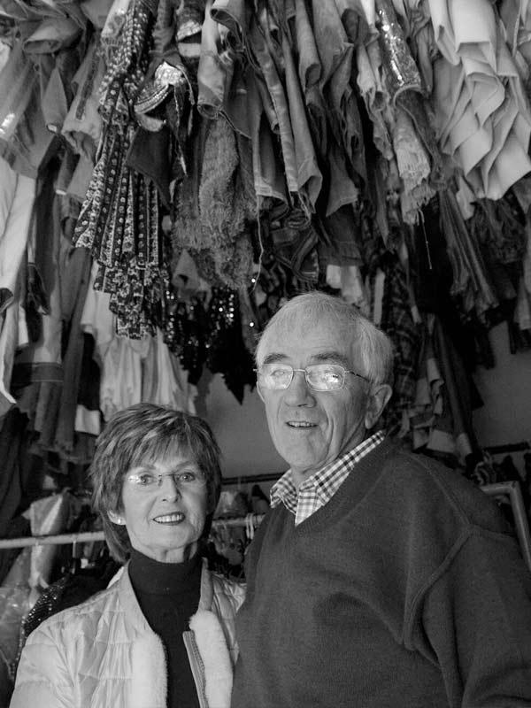 Declan & Anne Mangan 2019 portrait of Killorglin