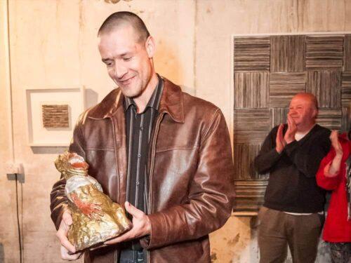 Girts Balodis Screaming Pope Prize 2014