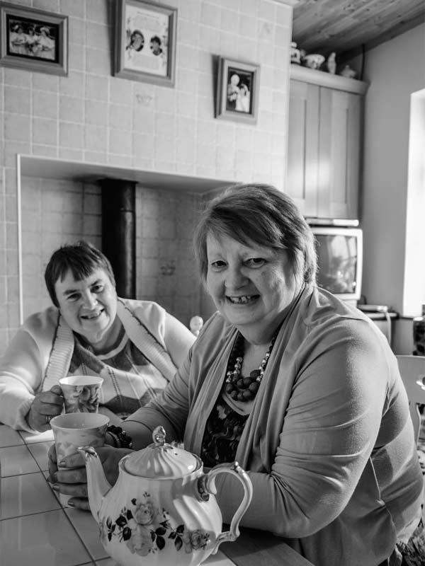 Kathleen & Marian McCann 2015 portrait of Killorglin