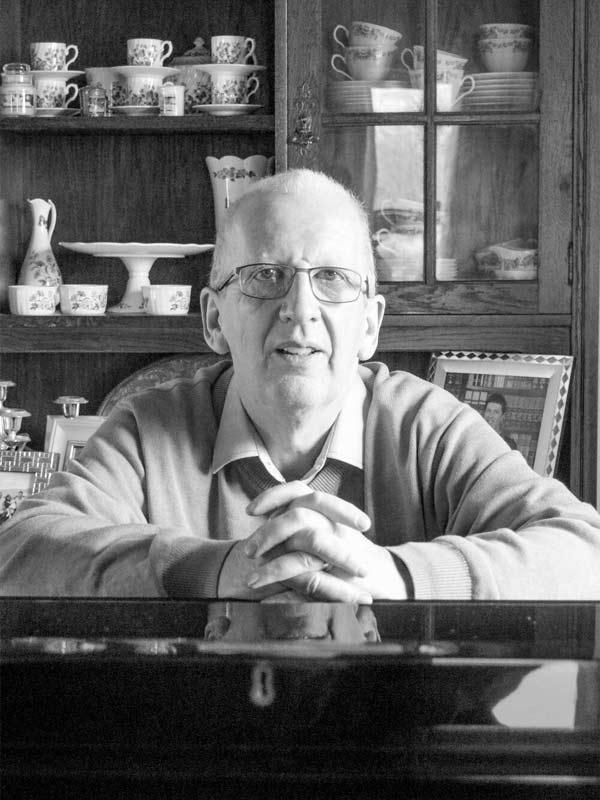 Mike Dowd 2018 portrait of Killorglin
