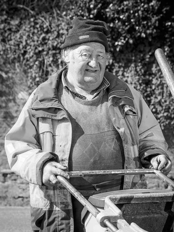 Mike McGillicuddy 2014 portrait of Killorglin