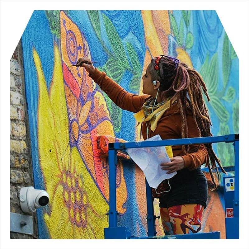 kinmx mural at K fest