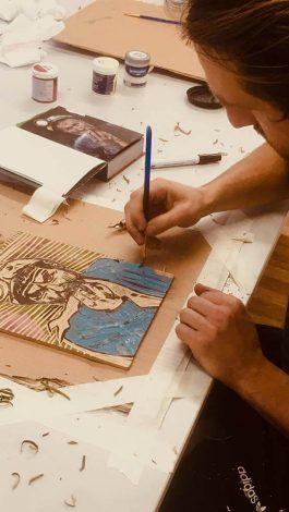 David Whelan Woodcutting Art 004