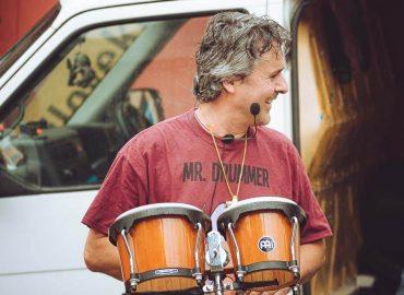 Drum Dance Ireland - the drummer