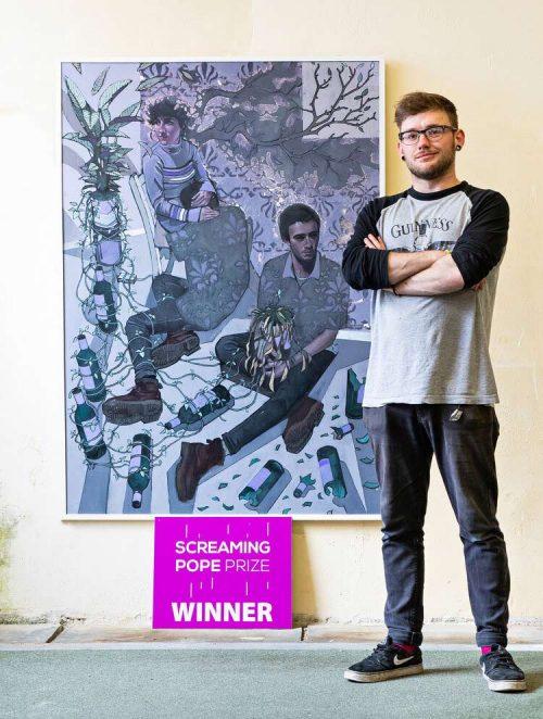 Tom Mclean Screaming Pope Prize winner 2019