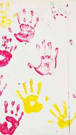 family events K-Kest hand prints